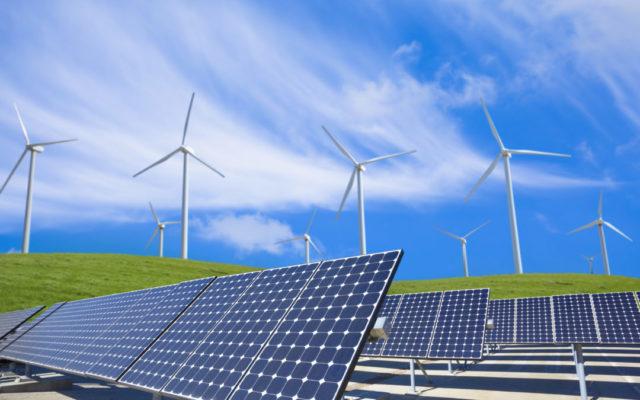 Cánh đồng pin năng lượng mặt trời