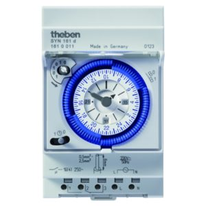 Công tắc hẹn giờ dạng cơ Theben SYN 161 d