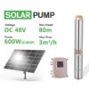 Bơm chìm ly tâm năng lượng mặt trời 3DPC3-80-48-600