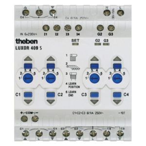 Module mở rộng cửa cuốn 4 kênh LUXOR 409S